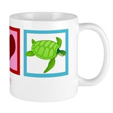 peaceloveturtleswh Mug