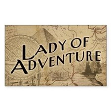 lady-of-adventure_11x18h Decal