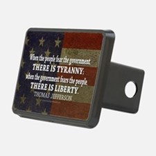 Jefferson Quote Liberty Hitch Cover