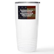 Jefferson Quote Liberty Travel Mug