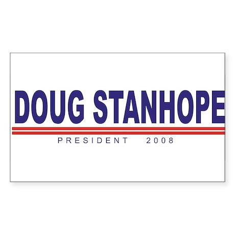 Doug Stanhope (simple) Rectangle Sticker
