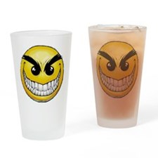 smiley-face-wallpaper-008 Drinking Glass