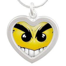 smiley-face-wallpaper-008 Silver Heart Necklace