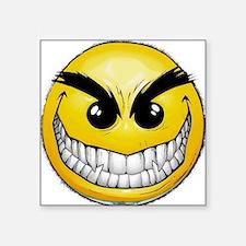 """smiley-face-wallpaper-008 Square Sticker 3"""" x 3"""""""