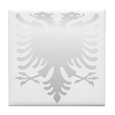 Albanian Eagle Silver 56in Tile Coaster
