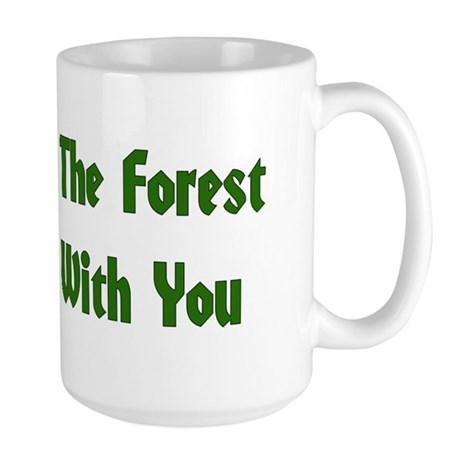 May The Forest Be With You Large Mug