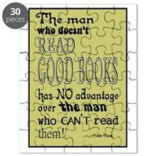 twain yellow framed poster size Puzzle