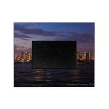 San Diego at night Picture Frame