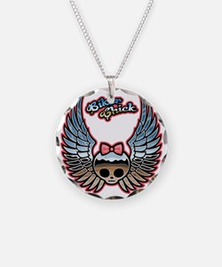 molly-chr-wing-T Necklace