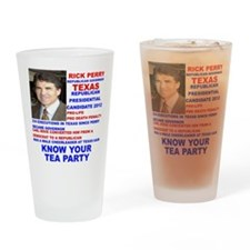 Rick-Perry-Tea-Party Drinking Glass