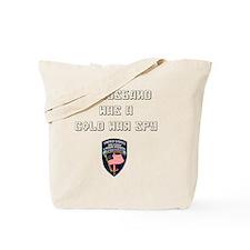 3D my husband was a cold war spy USMLM Tote Bag