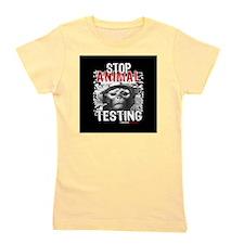 stop-animal-testing-pins-01 Girl's Tee