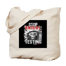 stop-animal-testing-pins-01 Tote Bag