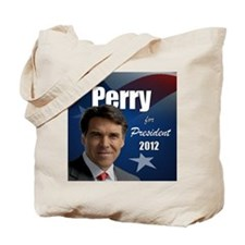 perry_button_2012 Tote Bag