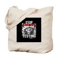 stop-animal-testing-pins-small-01 Tote Bag