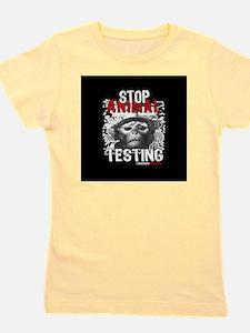 stop-animal-testing-pins-small-01 Girl's Tee