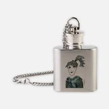Tiffi6.5x4.5 Flask Necklace