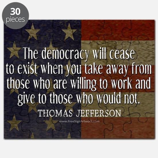 Democracy Quote Puzzle