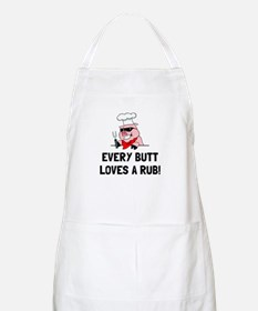 BBQ Butt Loves Rub Apron