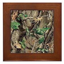 camo-swatch-hardwoods-green Framed Tile