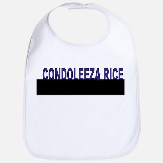 Condoleeza Rice (simple) Bib