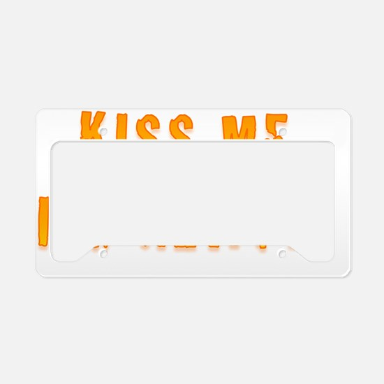 Kiss Me Im Newfie License Plate Holder