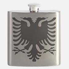 Albanian Eagle Carbon Flask