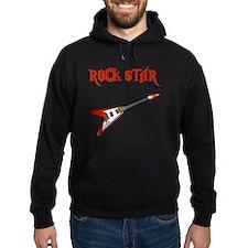 Rock Star Red Hoodie