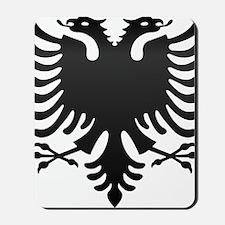 Albanian Eagle Carbon Mousepad