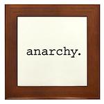 anarchy. Framed Tile