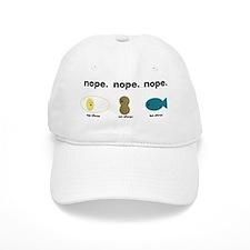 egg,nut,fish-black Baseball Cap