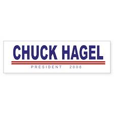 Chuck Hagel (simple) Bumper Bumper Bumper Sticker