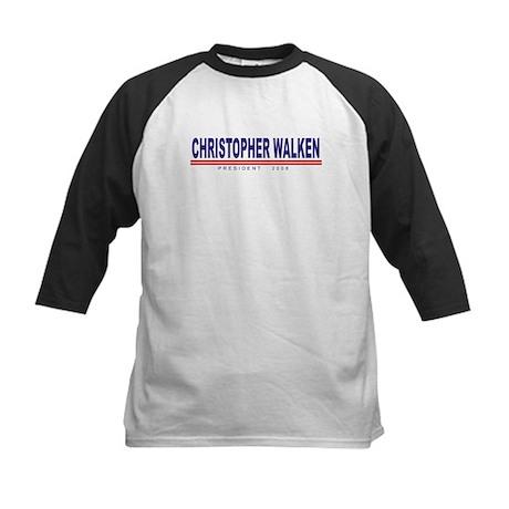 Christopher Walken (simple) Kids Baseball Jersey
