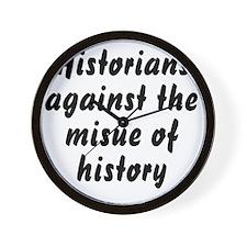 historiansblack Wall Clock