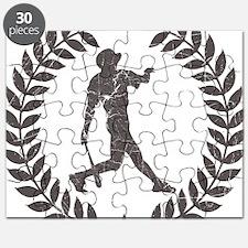 VintageBasebalPlayerHomerun-01 Puzzle