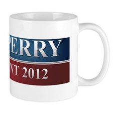 rick perry bumper sticker 3 Mug