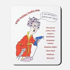 crafterssyndrome3 Mousepad