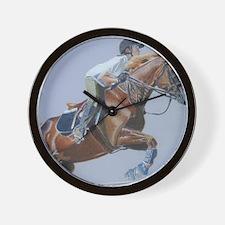 dani_belle_11x17_print Wall Clock