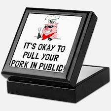 BBQ Pull Pork Keepsake Box