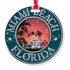 MiamiBch Ornament
