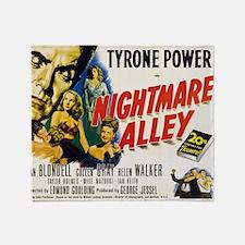 14x10_nightmare-alley Throw Blanket