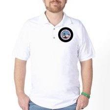 Hawaii patch extended T-Shirt