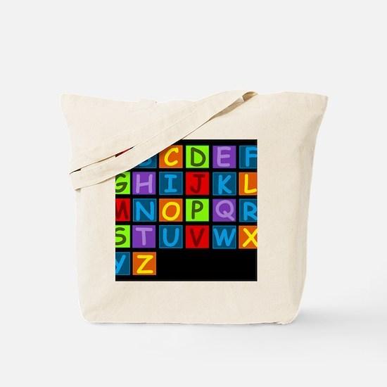 ABC RAINBOWDBG Tote Bag