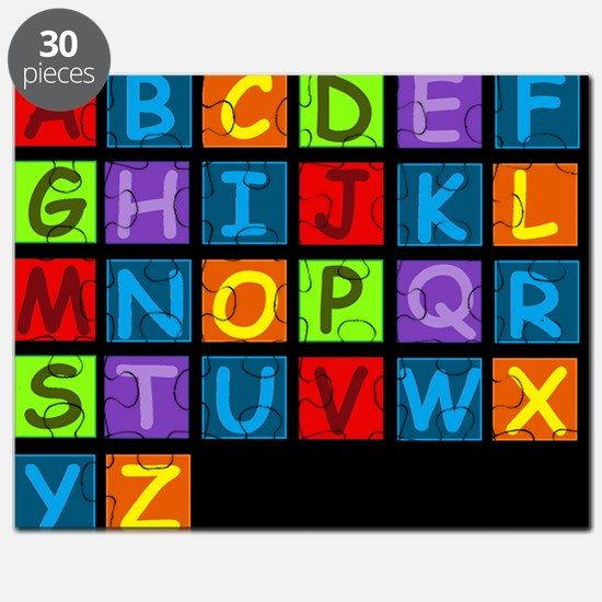 ABC RAINBOWDBG Puzzle