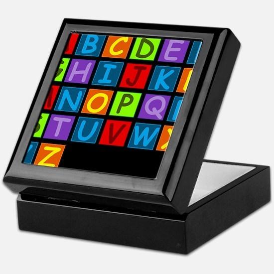 ABC RAINBOWDBG Keepsake Box