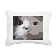 joe up close Rectangular Canvas Pillow