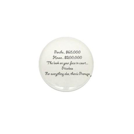 divorce Mini Button (100 pack)
