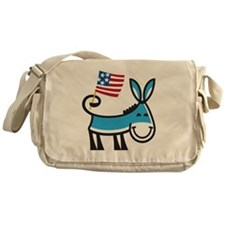 Democrat Donkey Messenger Bag