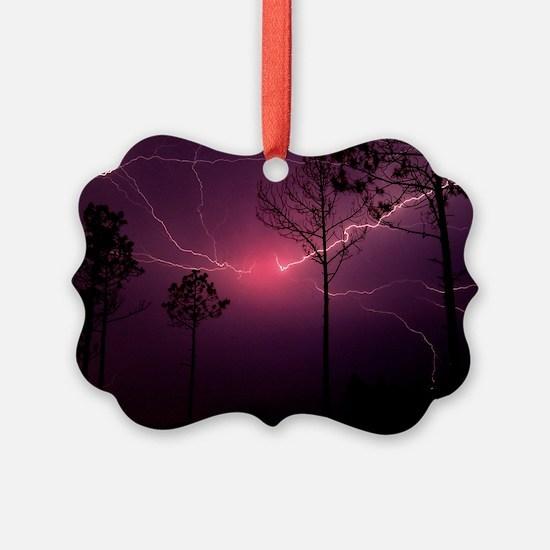 Lightning Ornament
