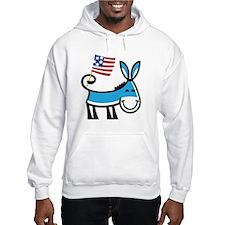 Democrat Donkey Hoodie